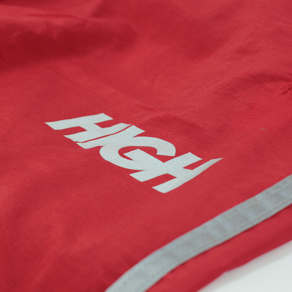 Track Pants Reflective Stripes Red