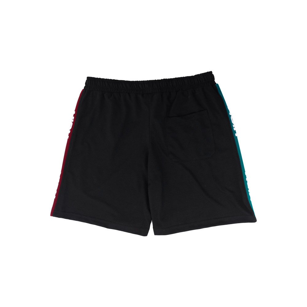 Piquet_Short_Logo_Pattern_Black
