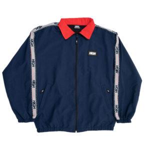 869a6979d1c Zipped Jacket Stripes Navy