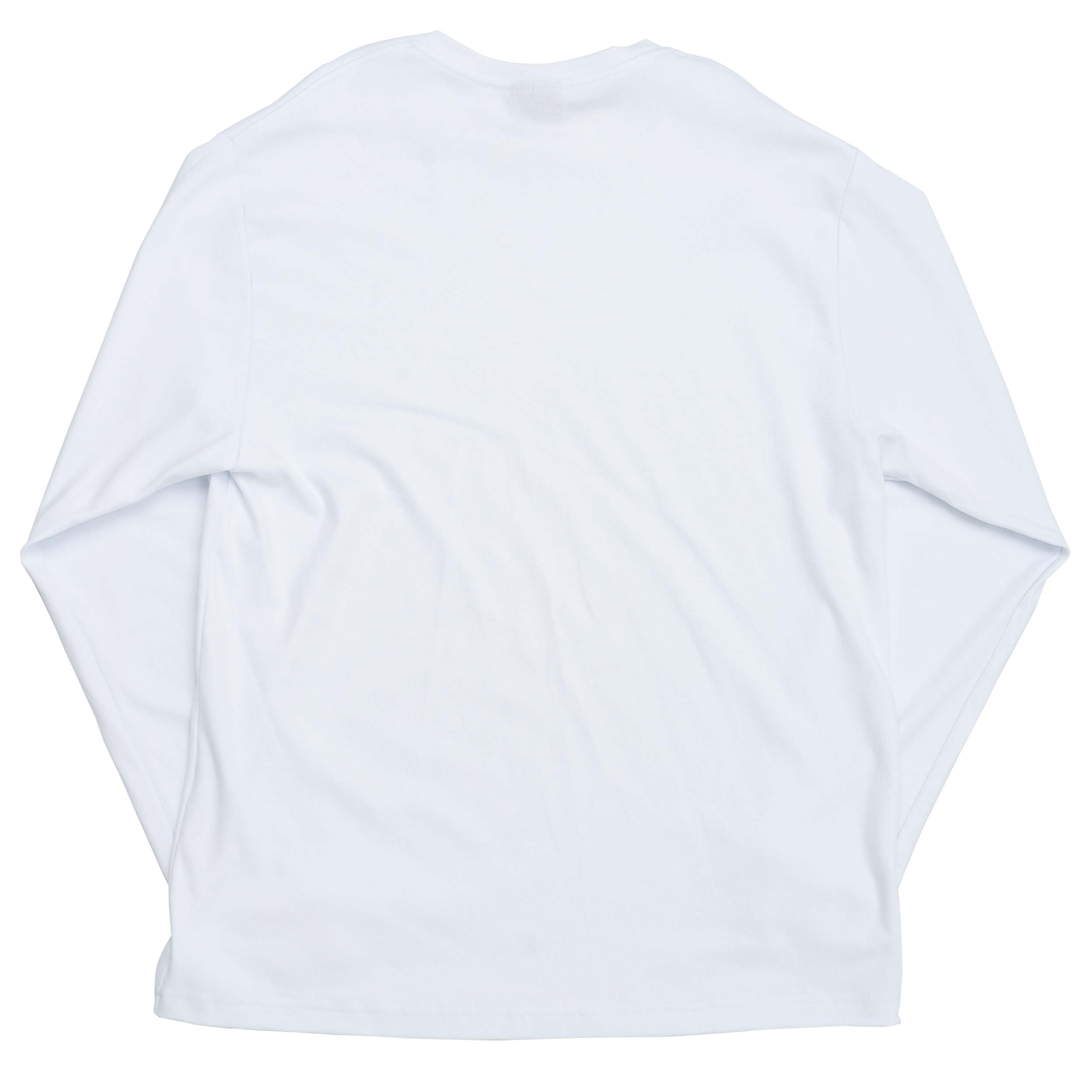 Work_Longsleeve_Outline_Logo_White