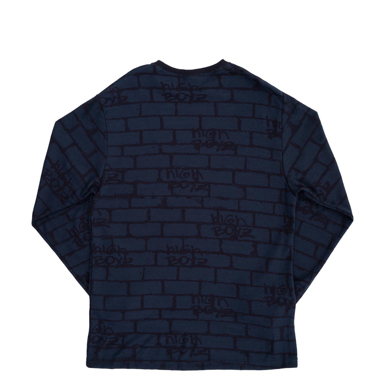 Longsleeve_Jacquard_Bricks_Navy